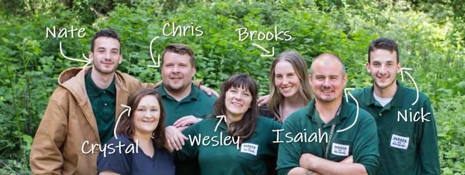 The Parker Eco Pest Control team