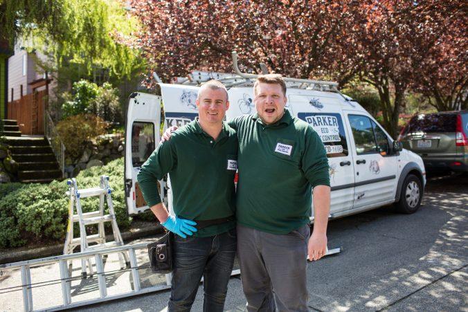 parker eco pest control technicians